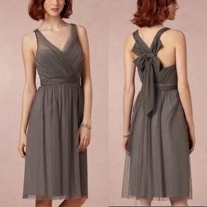 Anthro BHLDN Hitherto Tansy Cocktail Tulle Dress